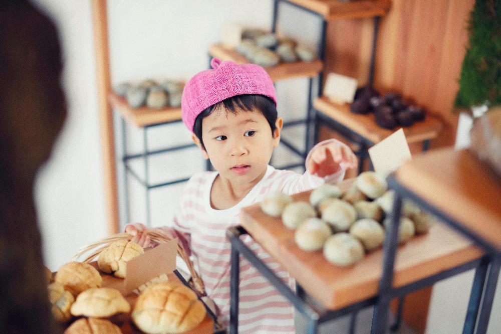 森で摘むパン屋
