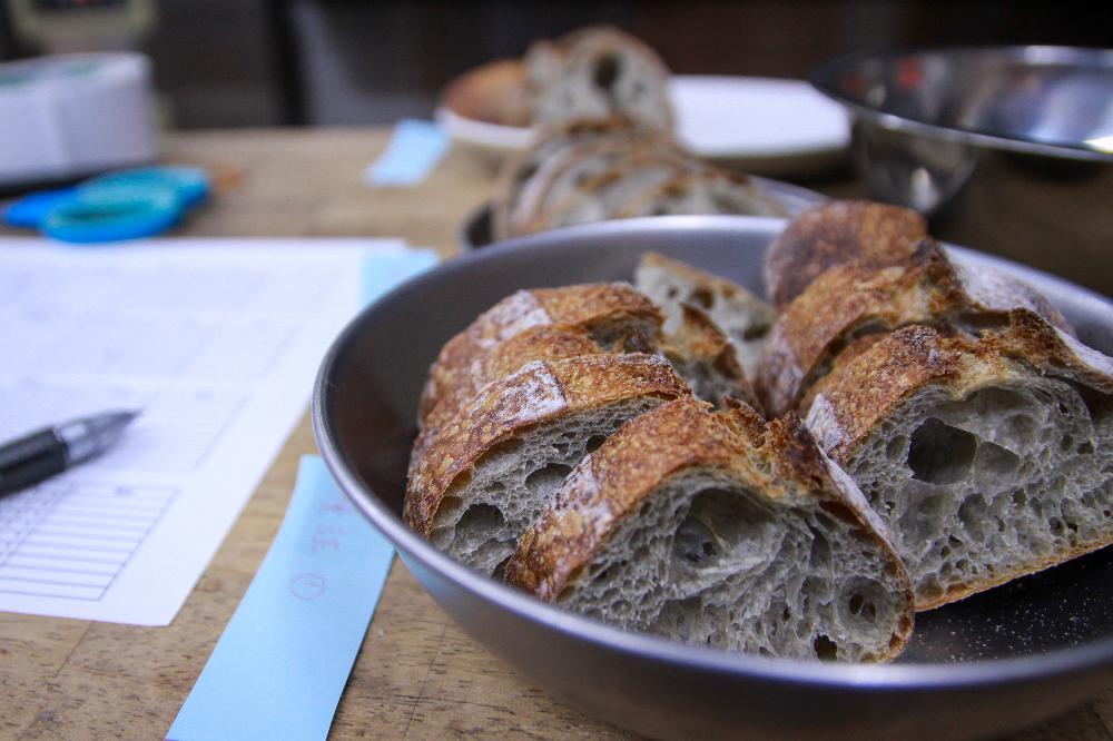 パンの検証